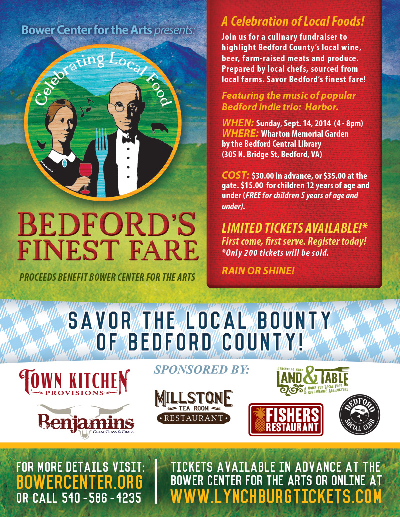 Bedford's Finest Fare 2014 event flyer