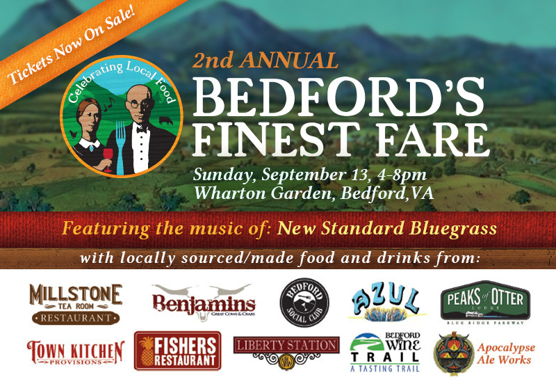 2nd Annual Bedford's Finest Fare – September 13