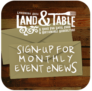 Sign-up for Land and Table Email Updates!