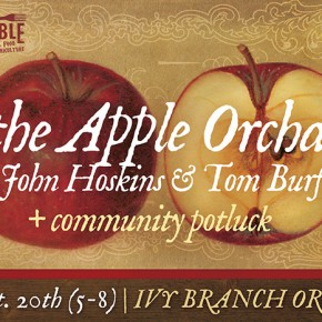 In the Apple Orchard with John Hoskins and Tom Burford
