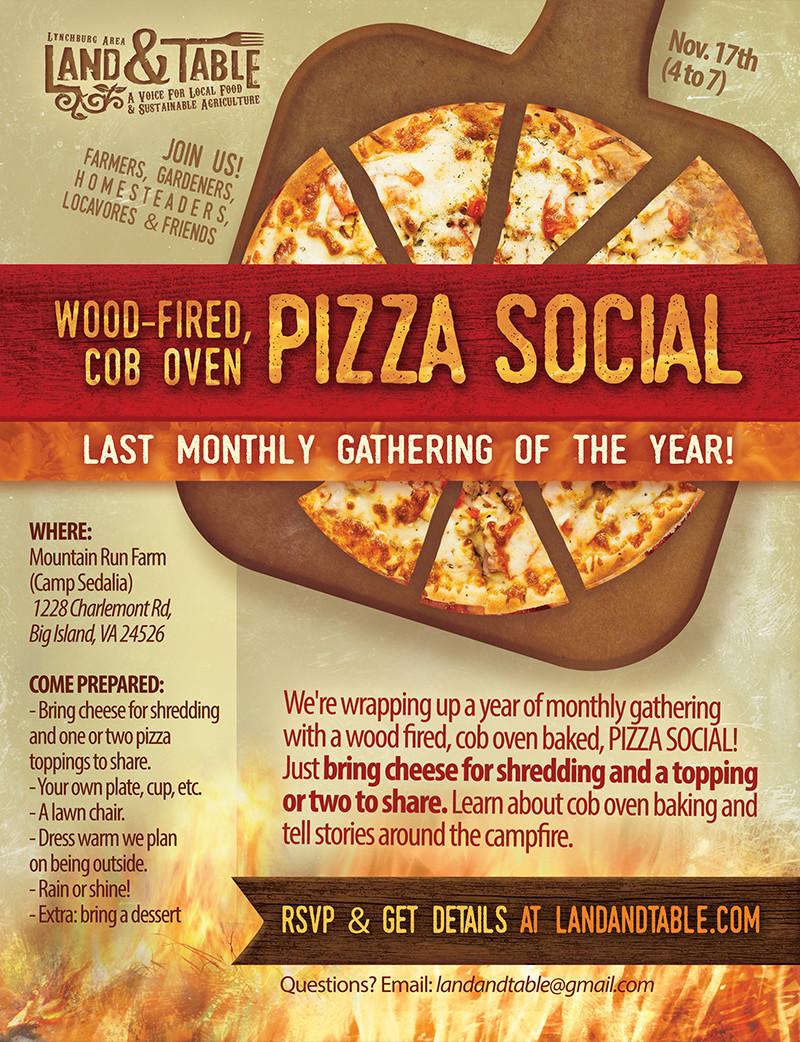 Cob Oven Pizza Social