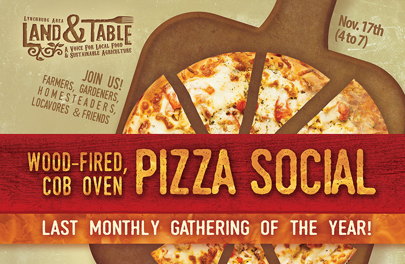 Cob Oven Pizza Social – Nov. 17