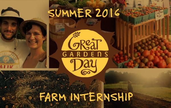 Great Day Gardens - Summer 2016 farm internship
