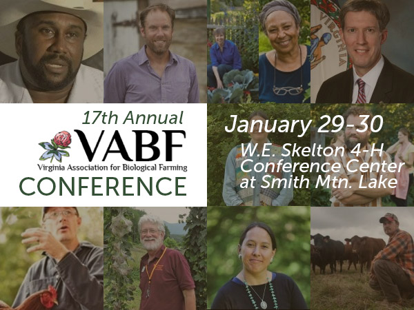 VABF Farming Conference in Smith Mountain Lake – Jan 29-30