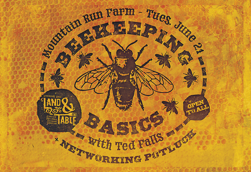 Beekeeping Basics with Ted Falls + Networking Potluck – June 21