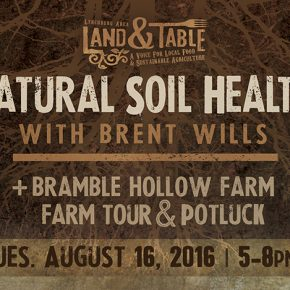 Natural Soil Health at Bramble Hollow Farm - August 16