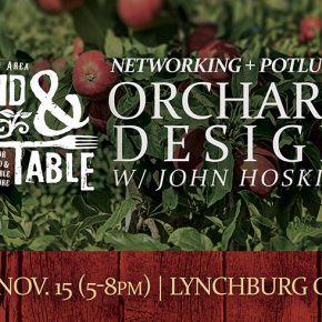 Networking Potluck and Orchard Design with John Hoskins - Nov. 15