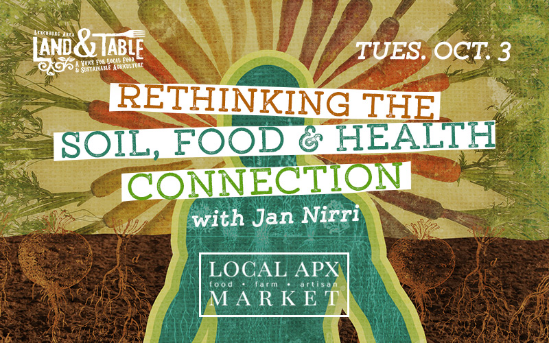 Rethinking the Soil, Food and Health Connection – Oct. 3