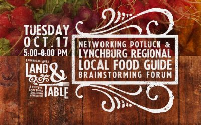 Local Food Guide: Brainstorming Forum and Potluck – Oct. 17