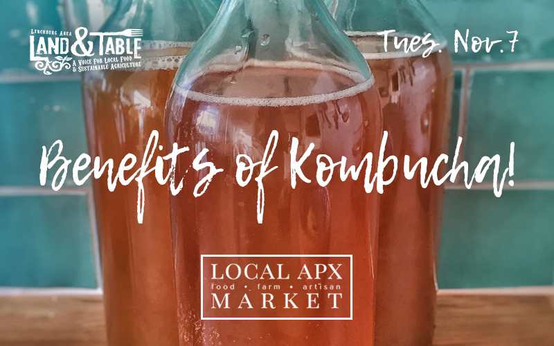 Benefits of Kombucha! (Appomattox) – Nov. 7