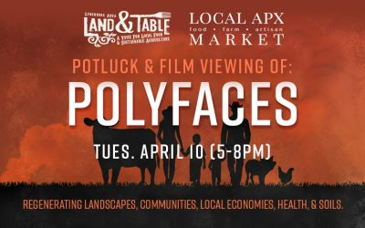 Potluck and Film Viewing: Polyfaces the Movie – April 10 (Appomattox)