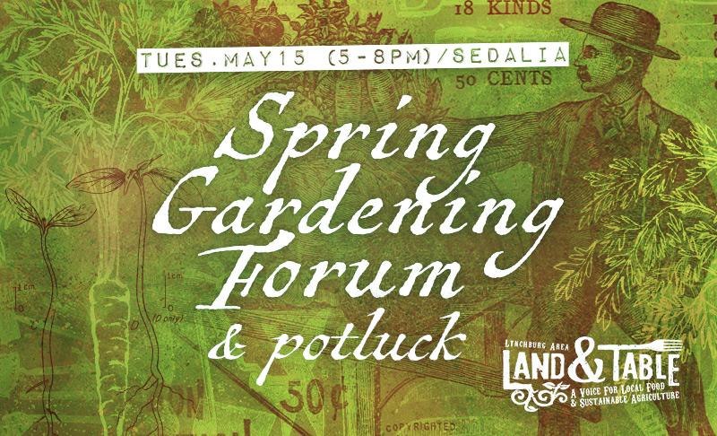 Spring Gardening Forum – May 15 (Sedalia)