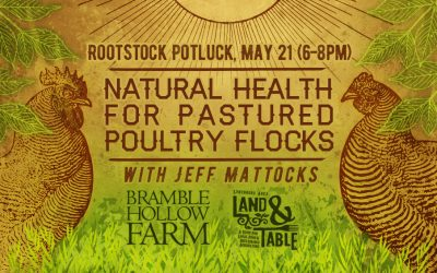 Root Stock: Natural Health for Pastured Poultry Flocks – May 21