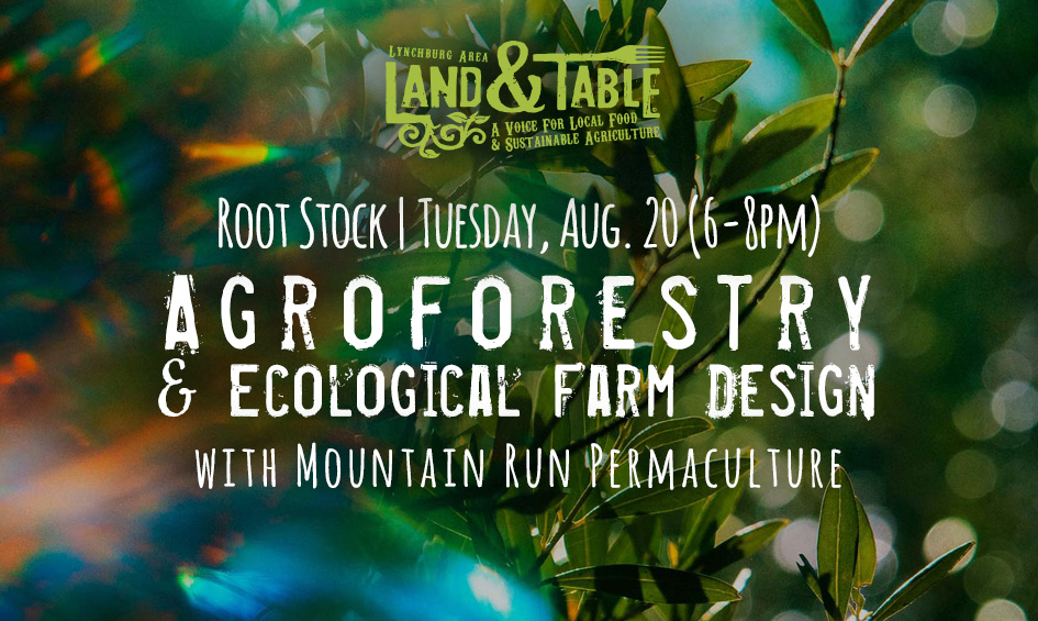 Root Stock: Agroforestry & Ecological Farm Design – Aug. 20